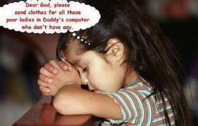 Dad Daughter Funny Prayer Picture