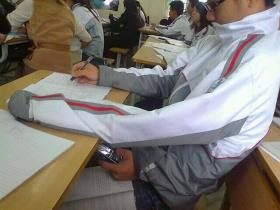 cheating in exam funny picture